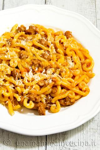 Gramigna al ragu di salsiccia e panna | Ricetta di Una Mamma In Cucina