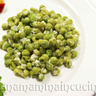 Pisellini alla crema di latte e parmigiano | Ricetta di Una Mamma In Cucina