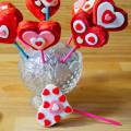Cake pops di San Valentino a forma di cuore - Ricetta di unamammaincucina.it