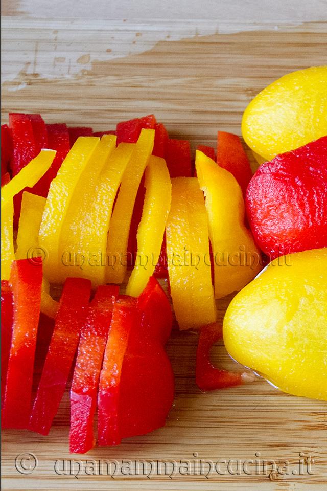 Peperonata - Ricetta di unamammaincucina.it