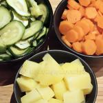Patate carote zucchine vapore verdure bambini leggere gustose delicate | Ricetta di unamammaincucina.it