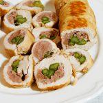 Ricetta Mini Arrosti di Tacchino con Salsiccia e Asparagi