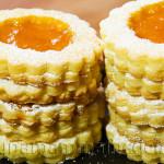 Ricetta Biscotti Occhio di Bue con Marmellata di Albicocche