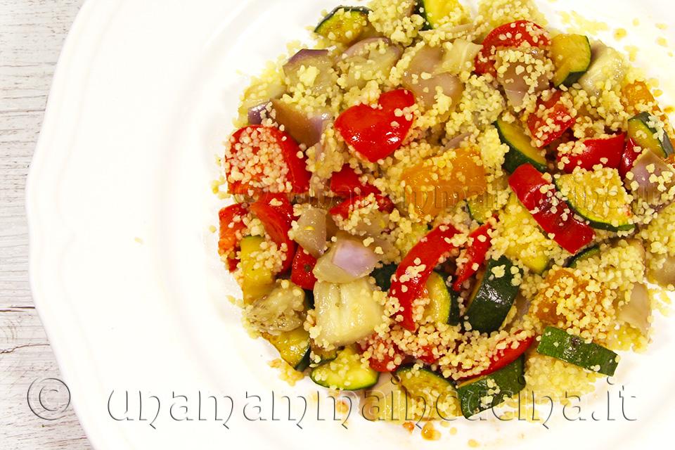 Cous cous di verdure mixed - Ricetta di unamammaincucina.it