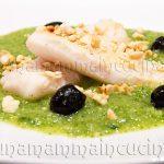 Ricetta Filetto di Merluzzo Croccante con Crema di Zucchine di Simone Rugiati