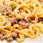 Ricetta Gramigna con Salsiccia e Piselli