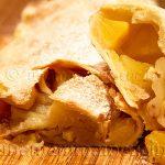 Ricetta Ricetta Strudel di Mele Leggero - Apfelstrudel